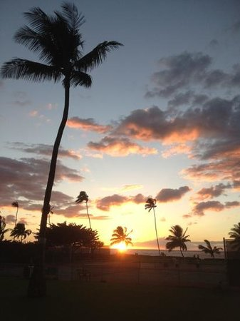 Maui Sunset Condos: from our lanai