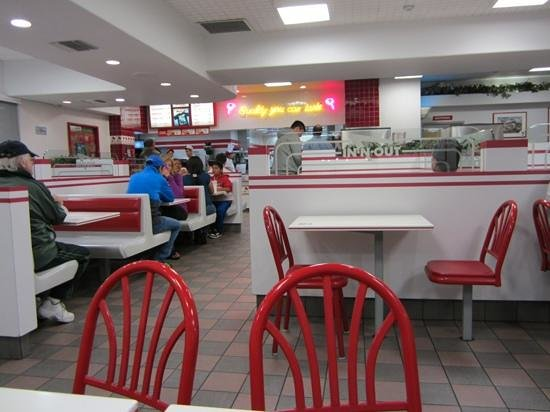 In N Out Burger Palm Springs