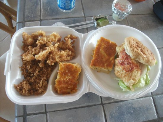 Pammy's : great Bahamian Food