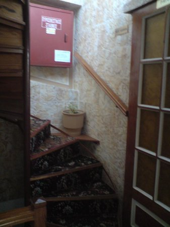 Faros Beach Hotel: Staircase