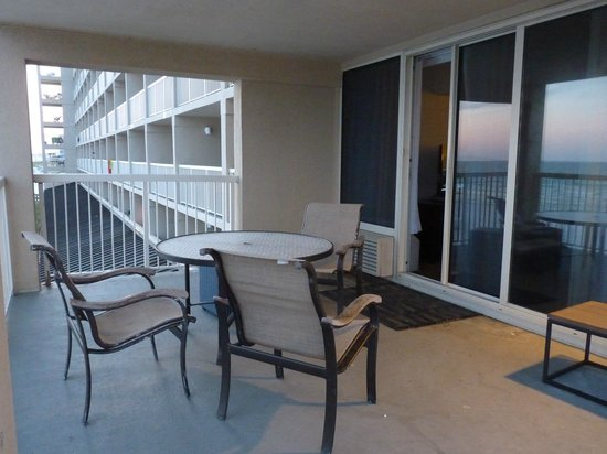 Four Points by Sheraton Destin- Ft Walton Beach: Gigantor Balcony