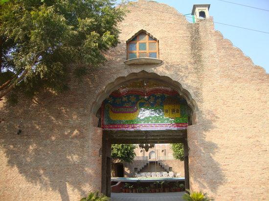 Adjacent Public Swimming Pool Picture Of Virasat Haveli Amritsar Tripadvisor