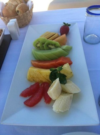 Hotel Cinco Sentidos: Abundant Fruit