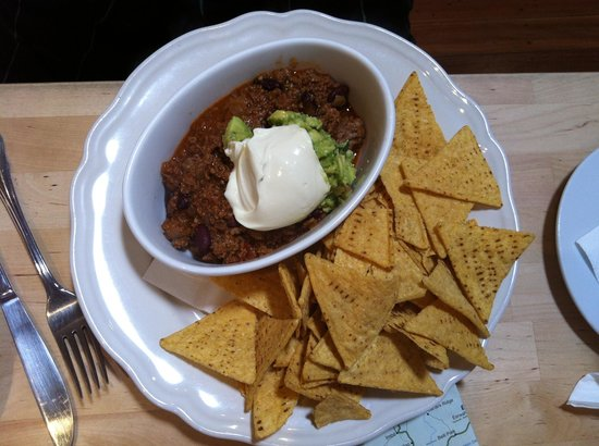 The Old Bank Cafe: Chile con carne