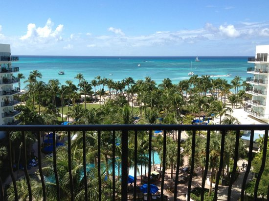 Aruba Marriott Resort & Stellaris Casino: View From our Balcony - Romm 836
