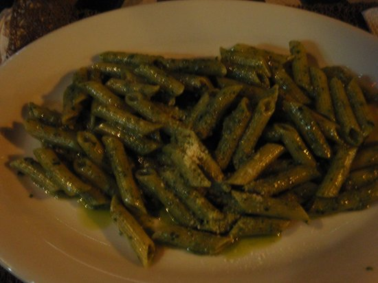 La Gioconda House Hotel: pasta with pesto