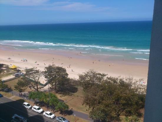 International Beach Resort: view to beach from 10th floor