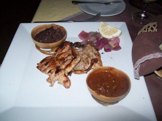Taberna de los Frailes : porc mariné orange amère