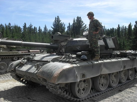 Tanks For Everything - Drive a Tank!: The T55
