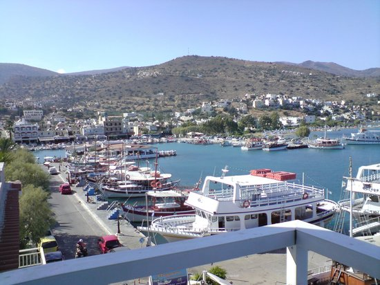 Hotel Aristea : View from balcony