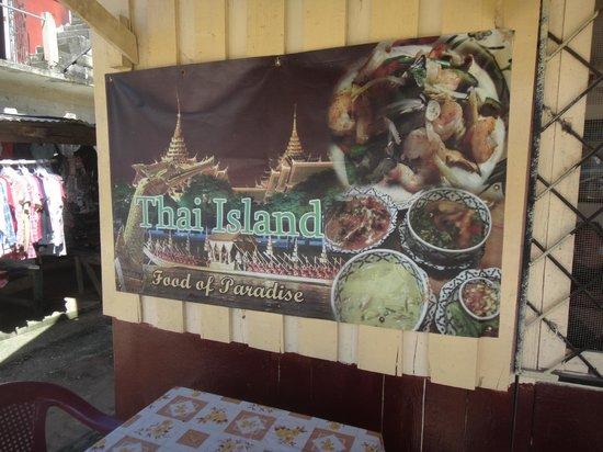 Thai Island: Sign