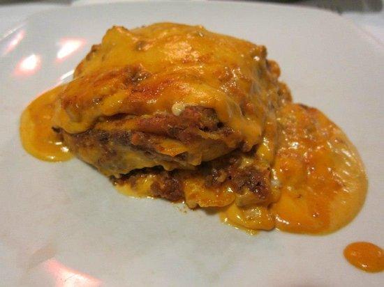 Osteria Pepo: Beef lasagne