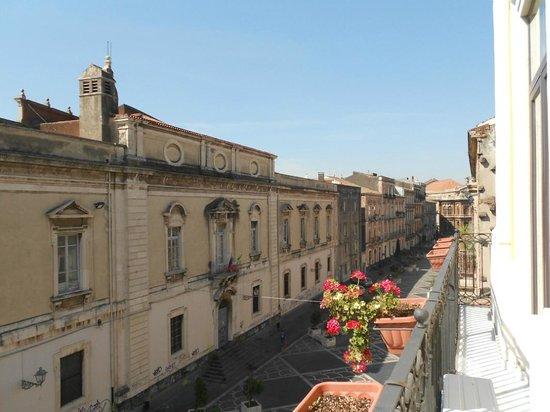 B&B Al Teatro Massimo: morning balcony view