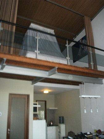 Villa Puri Ayu: loft bedroom