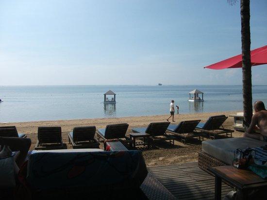 فيلا بوري أيو: beach area