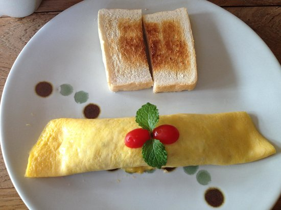 The Castle: tasty omelet