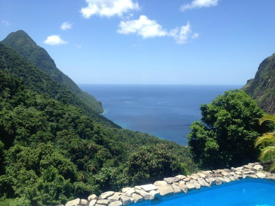 Ladera Resort : view from the room