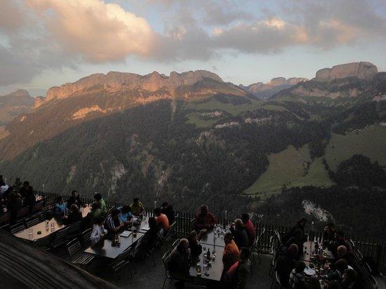 Berggasthaus Aescher: spectacular scenery