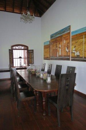 Villa Modarawattha: Dining Room