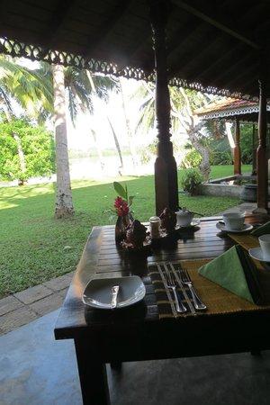 فيلا موداراواتثا: View at breakfast 