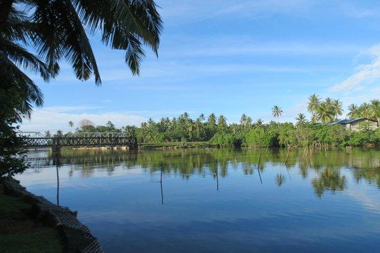Villa Modarawattha: The lake