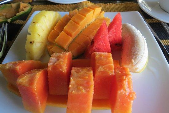 Villa Modarawattha: Breakfast