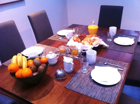 Le Loft du Sart : BREAKFAST WITH HOME-MADE JAMS