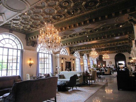 The St. Regis Washington, D.C.: Beautiful lobby
