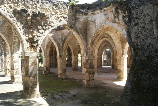 Kilwa Kisiwani: de 'Great Mosque', oorverdovend stil!