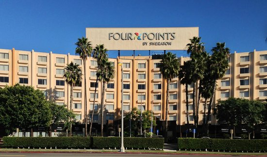 ‪‪Four Points by Sheraton Los Angeles International Airport‬: Front view of the Four Points LAX