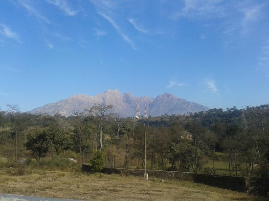 Country Inn & Suites By Carlson, Vaishno: View of Viashno Devi Mountain from the Resort