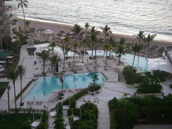 Now Amber Puerto Vallarta: View to the pools