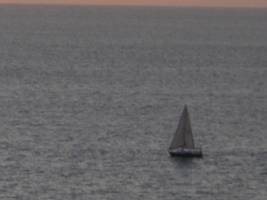 Now Amber Puerto Vallarta: Sailboat on the water