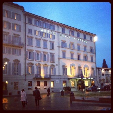 Grand Hotel Minerva: The hotel