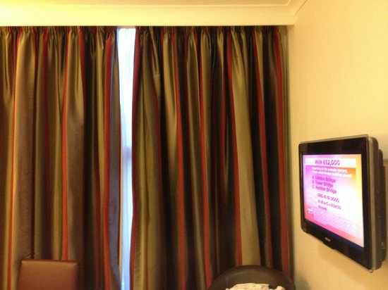 County Hotel: Curtains Drawn