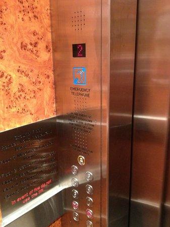 County Hotel: Elevator