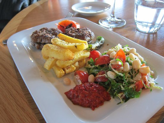 Istanbul Modern: Akcaap kebab