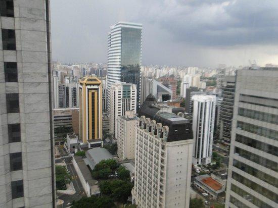 Hilton Sao Paulo Morumbi: vista do quarto