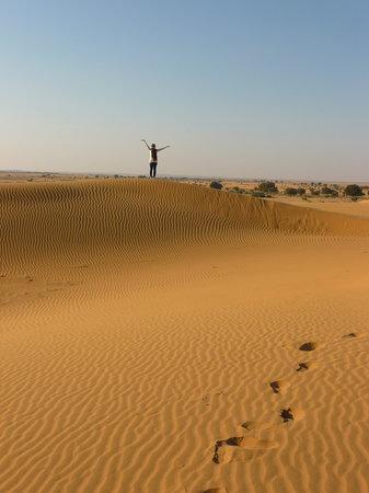 Residency Centre Point Guest House and Desert Safari: Beautiful camel safari!