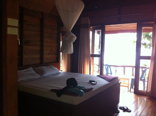 Phi Phi Sunset Bay Resort: La chambre