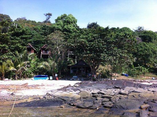 """Phi Phi Sunset Bay Resort: """"Le resto"""" et l'accueil"""