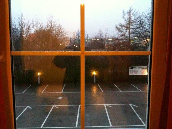 A.E.I.O.U. Oekotel Wienna: View from window