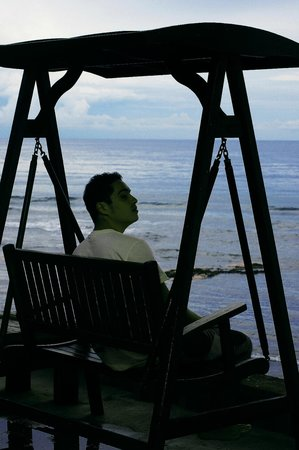 Onlyou Villas: My son at his favorite place in Bali