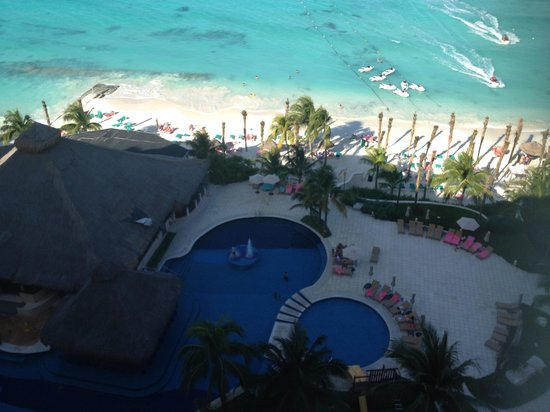 Grand Fiesta Americana Coral Beach Cancun: View frm room