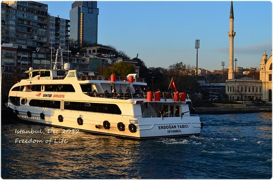 Bosphorus Cruise: Photographing place !