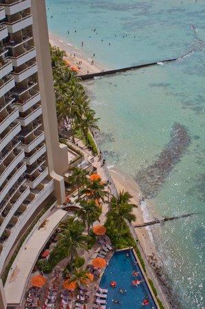 Sheraton Waikiki: balcony view