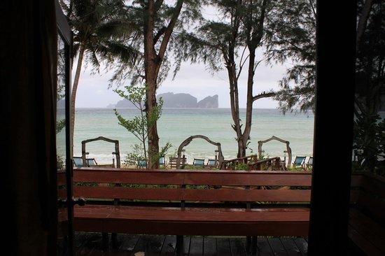Paradise Pearl Bungalows: Vue de la chambre 