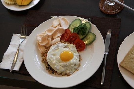 Bali Yubi Villa: breakfast
