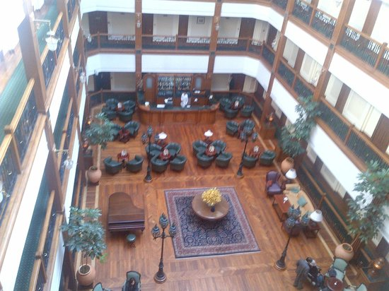 The Oberoi Cecil, Shimla: View of the Atrium from our floor