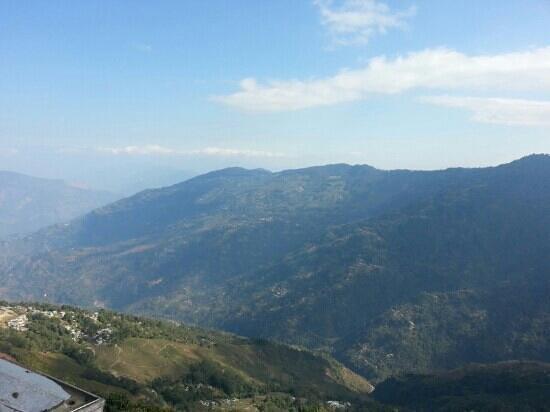 Central Nirvana Resort, Darjeeling: view from the room